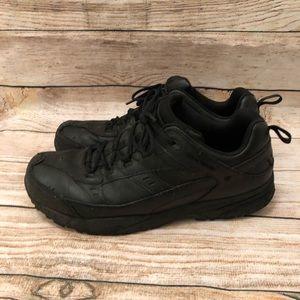 Redwing steel toe work shoes. Ppe black.
